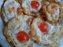 盐味鸡蛋 库存图片