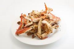 盐和胡椒红色螃蟹 免版税库存照片