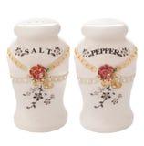 盐和胡椒罐 免版税图库摄影