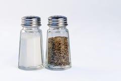 盐和胡椒 库存图片