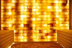 盐室在温泉中心 免版税库存图片