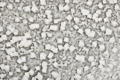 盐水晶纹理 库存照片