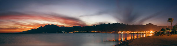 盐水湖 免版税图库摄影