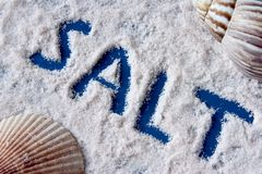 盐海运 库存图片
