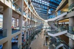 盐湖城公立图书馆 库存照片