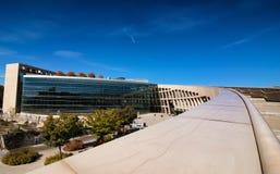 盐湖城公立图书馆 免版税库存图片