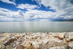 盐湖,犹他,美国 库存图片