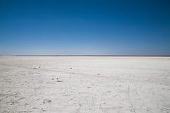 盐溶沙漠 免版税库存图片