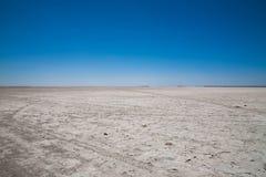 盐溶沙漠 免版税库存照片