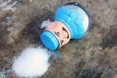 盐瓶 免版税库存图片