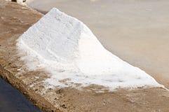 盐的沼泽 图库摄影