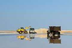 盐矿在哥伦比亚 免版税库存照片