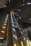 盐矿画廊盐沼图尔达在罗马尼亚 库存图片