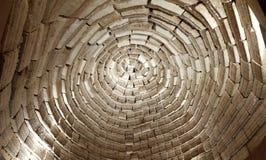 盐砖圆顶,乌尤尼盐沼,玻利维亚 免版税库存图片