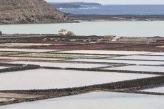 盐精炼厂 免版税库存图片