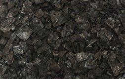 黑盐纹理背景 免版税库存图片