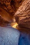 盐,谷月亮,圣佩德罗阿塔卡马高原,智利洞  库存照片