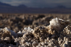 盐水晶 库存图片