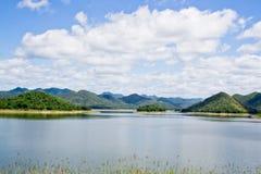 盐水湖 库存照片