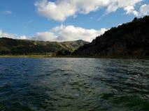 盐水湖tota aquitania博亚卡省哥伦比亚 库存照片