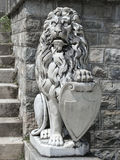 监护人狮子 图库摄影