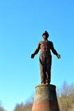 监护人纪念碑在威尔士2 库存图片