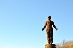 监护人纪念碑在威尔士1 免版税库存图片