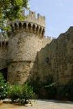 监狱城堡罗得斯 免版税库存图片