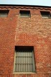 监狱墙壁 免版税库存图片