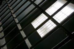 监狱模式 免版税库存照片