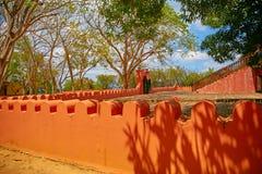 监狱海岛在桑给巴尔,坦桑尼亚 免版税库存照片