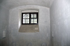 监狱牢房窗口 免版税库存照片