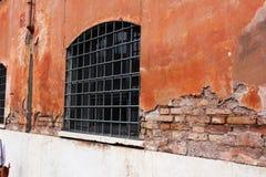 监狱窗口 库存照片