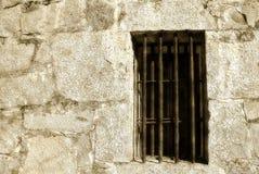 监狱草图视窗 库存照片