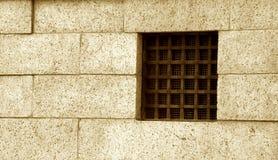 监狱视窗 免版税图库摄影