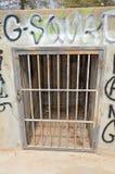 监狱酒吧 免版税库存照片