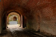监狱隧道 库存照片