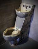 监狱洗手间 库存图片