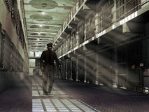 监狱 皇族释放例证