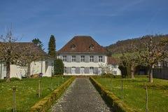 监狱Arlesheim,瑞士 免版税库存照片