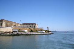 监狱quentin圣状态 免版税库存图片