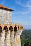 监视塔欧伦城堡 免版税库存图片