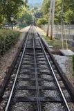 监视山斜面铁路在加得奴加,田纳西 库存图片