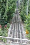 监视山斜面铁路,加得奴加, TN 免版税库存图片