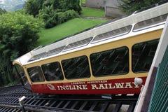 监视山斜面铁路,加得奴加, TN 免版税图库摄影