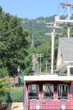 监视山斜面铁路,加得奴加, TN 库存图片