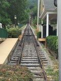 监视山铁路在加得奴加 免版税库存照片
