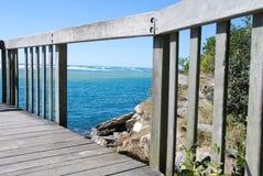 监视海洋 免版税库存照片