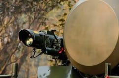 监视雷达 库存图片