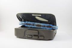 盒式磁带和卡式磁带播放机 免版税库存图片